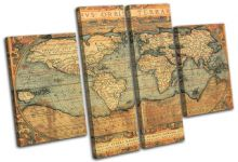 Old World Atlas Maps Flags - 13-0768(00B)-MP17-LO